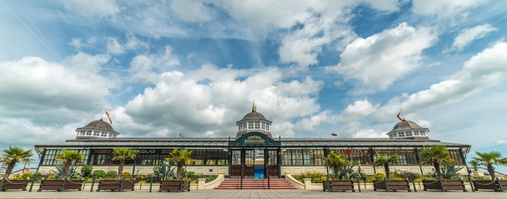 Herne Bay Bandstand by David Attenborough