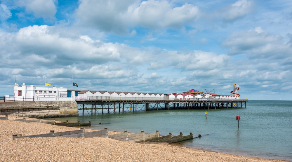 Herne Bay Pier Head by David Attenborough