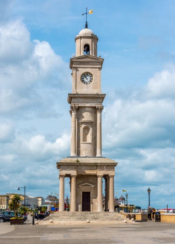 Herne Bay Clocktower by David Attenborough