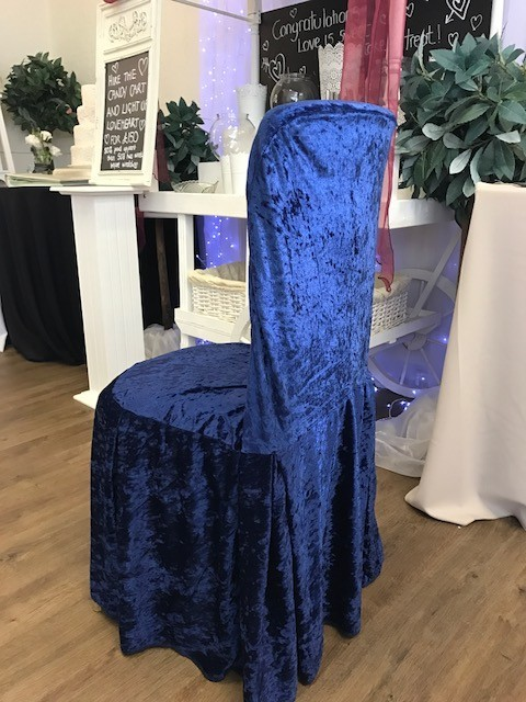Velvet Chair Covers