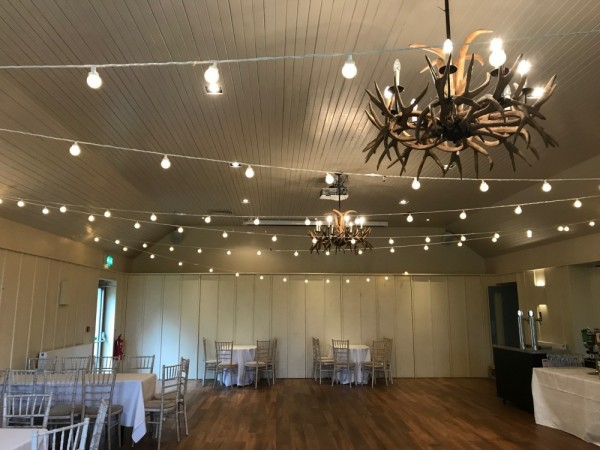 Festoon lights in warm white at Loch Lomond Arms - £125.00 Replacement value £300.00