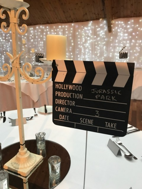 Clapper Boards perfect for a movie theme