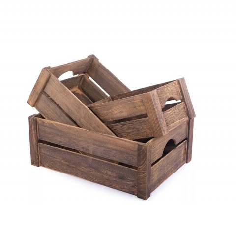 Wooden crates various sizes
