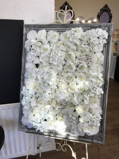 Floral table plan. £40. Replacement value £150.00