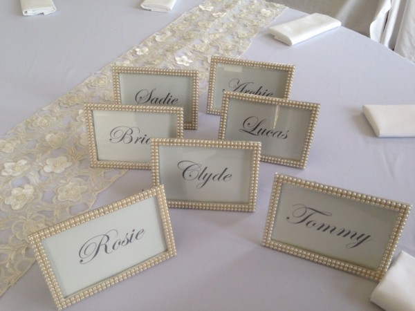 Pearl frames £2.50 each, Replacement value - £12.00