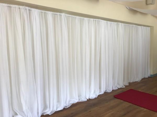 Loch Lomond Arms Hotel - backdrop covering folding doors