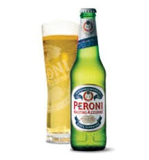 Peroni Nastro Azzuro Brewed from the finest spring planted barley malts, has a unique balanced taste with a delicate aroma arising from the hops of the most exclusive varieties.