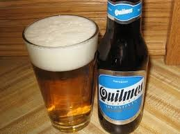 Quilmes A pale Lager, light and refreshing.