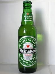 Hieneken 100% Barley malt, choice hops and pure water give this brew unsurpassed clarity
