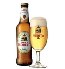 Birra Moretti is produced using a traditional process that has remained almost unchanged since 1859. Only the highest quality raw materials are used and a particular mixture of valuable hops, that gives the beer its aroma and unique fragrance,