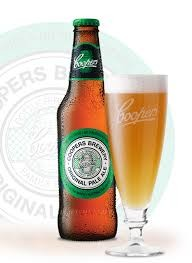 """Coopers Pale Ale """"With its fruity character, and robust flavour, Coopers Pale Ale is perfect for every occasion. Naturally fermented in the 'Burton-on-Trent' style, a secondary fermentation creates the trademark sediment that gives 'Pale' its fine cl"""