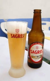 Sagres A beer that's 100% natural, with proper brightness, medium body, dry character and a pleasant bitter taste. It's light and golden colour.