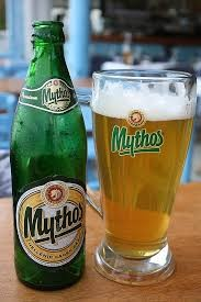 Mythos The most famous Hellenic beer. With the rich head, bright golden colour, and pleasant refreshing taste,