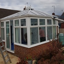 MR AND MRS MARSDEN ORIGINAL POLYCARBONATE ROOF