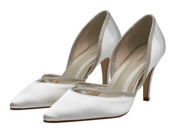 GEORGIA - Chic satin court shoes £85