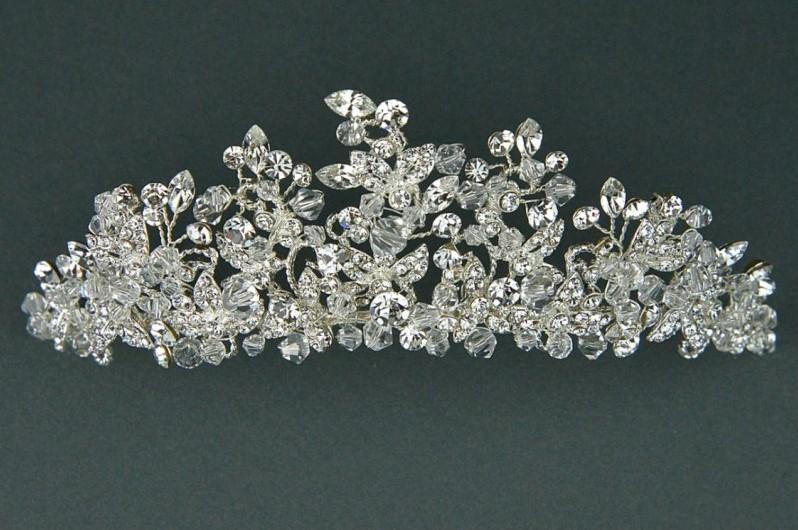 TWILIGHT DESIGNS - TLT4500 - Swarovski stones & crystal diamante tiara