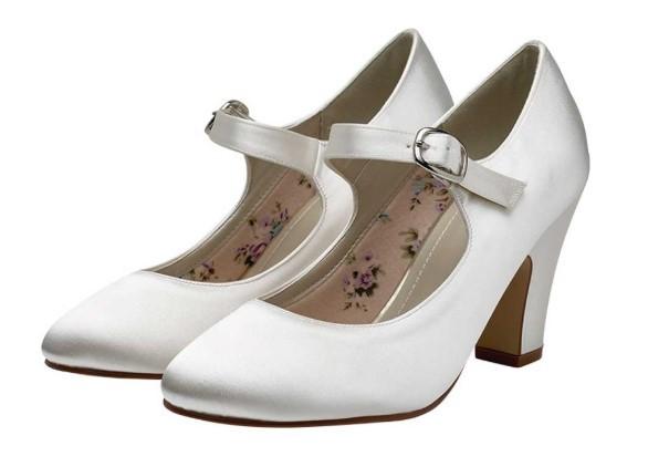 MADELINE - Mary Jane satin shoes £69