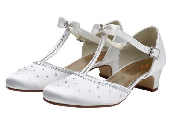 RAINBOW CLUB - LEMONADE - T-bar style communion shoe £33