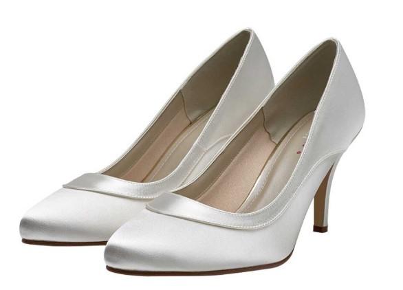 NICOLE - Satin elegant court shoe £75