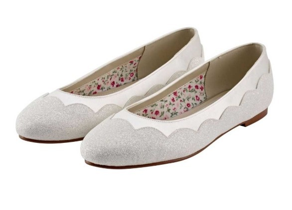 RAINBOW CLUB - CECILY - Ivory shimmer pump shoe