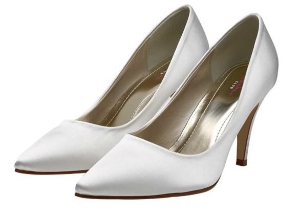 VIVIAN - Satin court shoe £65