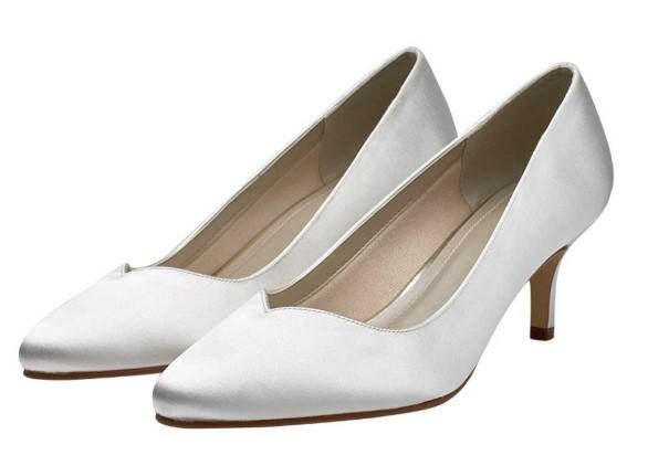 ELIZABETH - Sweetheart throat court shoe £65