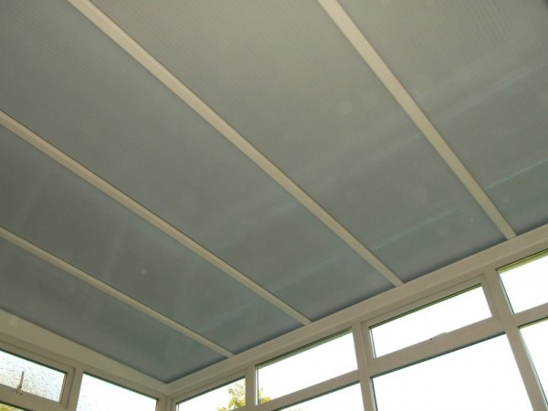 Heat guard poly carbonate Roof Upgrade