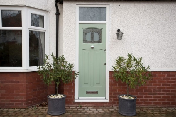 Chartwell green Rock door