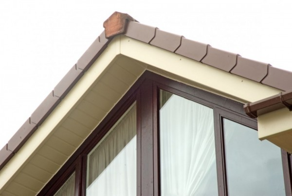 Cream Fascias & Soffits