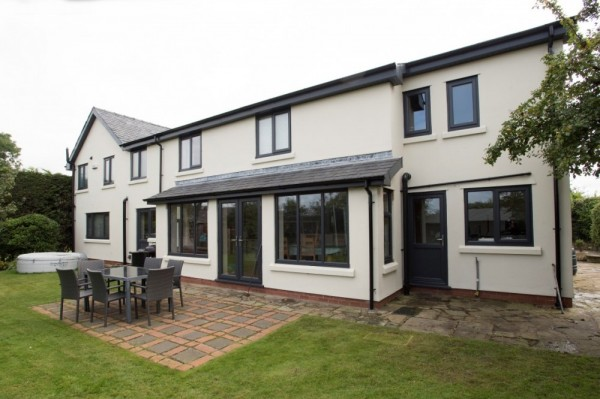 Anthracite grey UPVC windows & doors