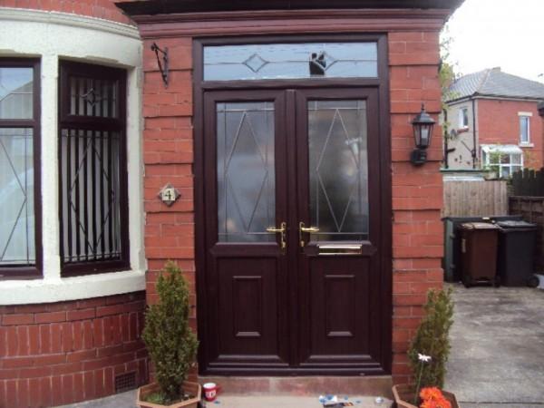 Rosewood French Door Combination