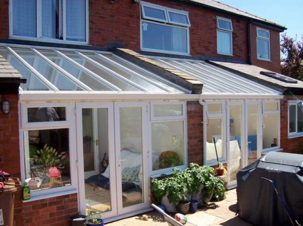 Two Number White Lean-2 Conservatories