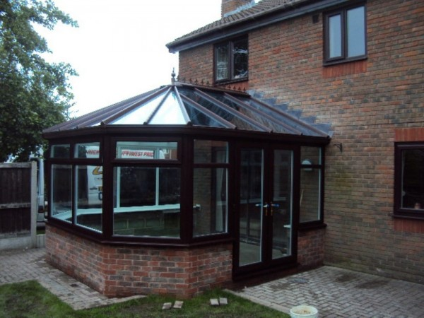 Rosewood Victorian Conservatory