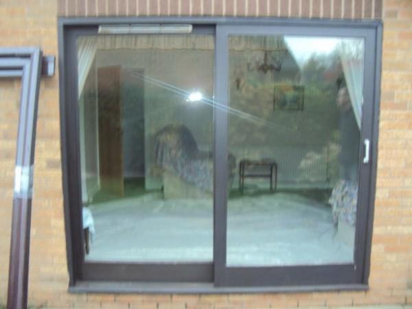 Anthracite grey UPVC Sliding Patio Door