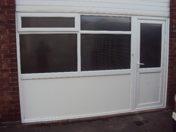 White UPVC Frames (School Preston)