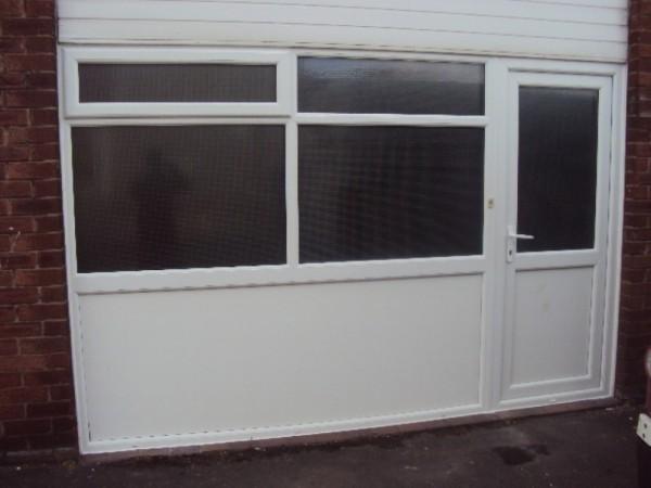 White UPVC Frames (School Preston)