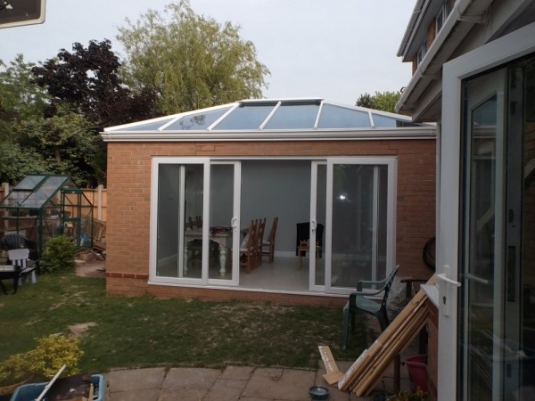 New build orangery