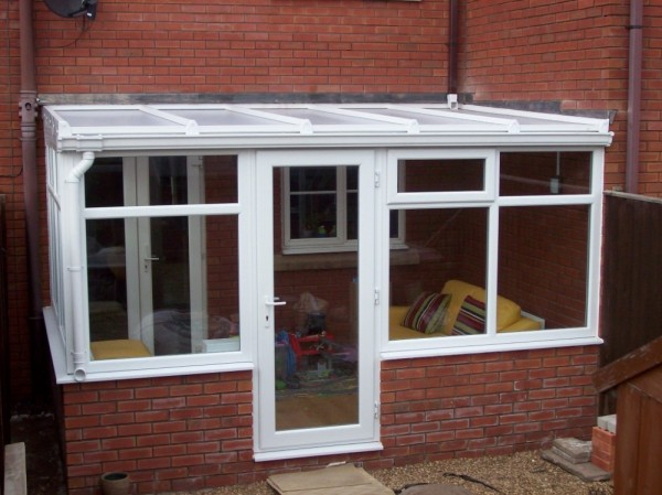 White Lean-2 Conservatory