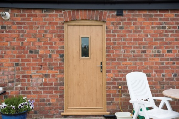 Solidoor composite door Irish Oak