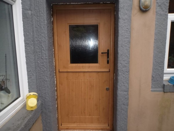 Irish Oak Rock Stable Door