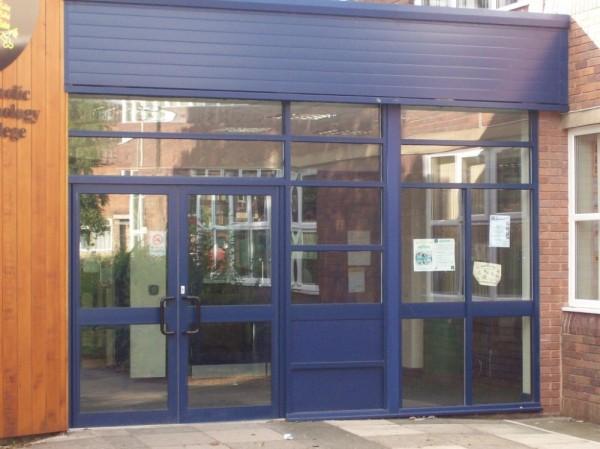 Blue Aluminum Frames (School Leyland)