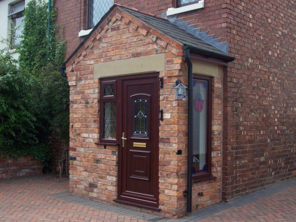 Rosewood UPVC door & window