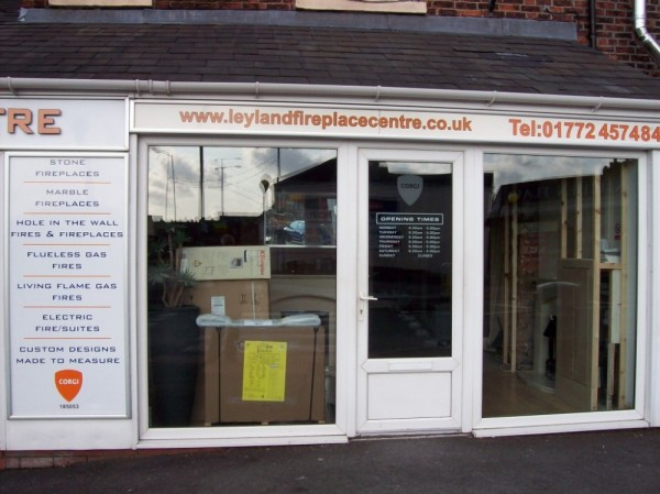 White UPVC Frames (Shop Preston)