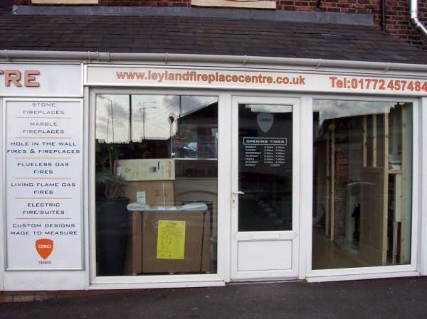 White UPVC Frames (Shop Preston)