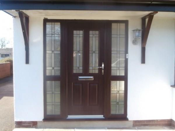 Rosewood Rock door
