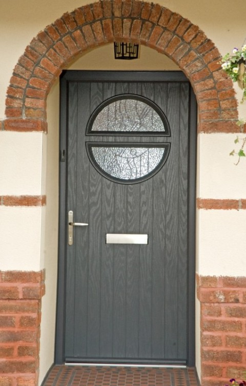 Anthracite grey VEKA Composite Door