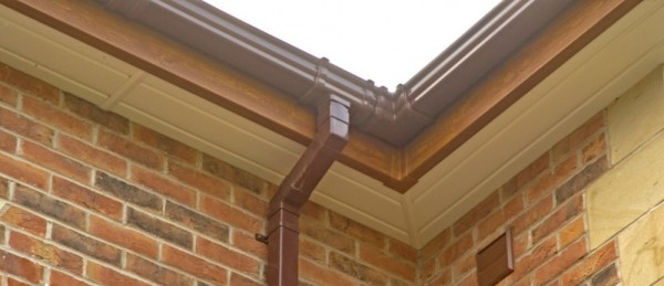 Golden oak Fascias & Cream Soffits