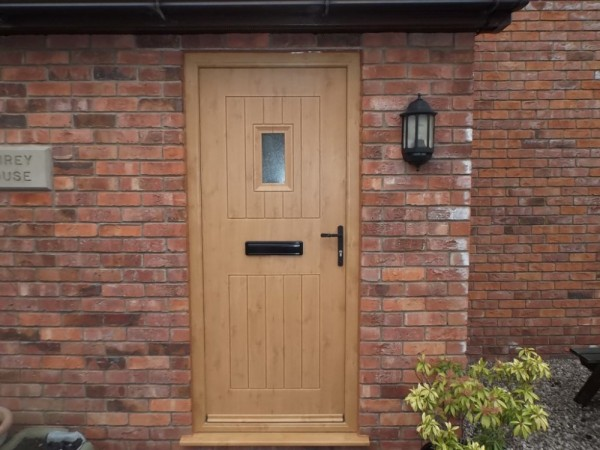 Irish Oak Rock Door