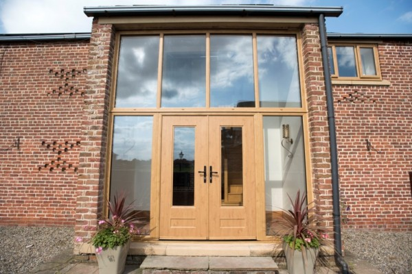 Irish Oak Rock Door -French Doors