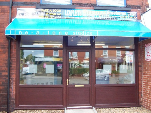 Rosewood UPVC frames (Shop Ashton)